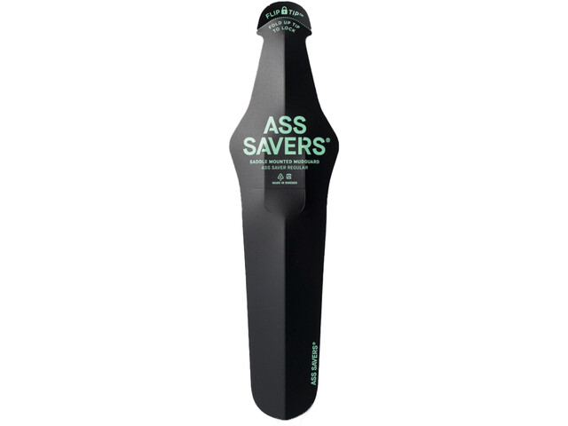 Ass Savers Ass Saver Garde-boue arrière Regular, black